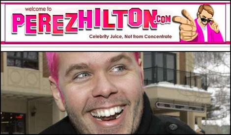 perez hilton Blogger Perez Hilton Offered 20 Million For His Blog