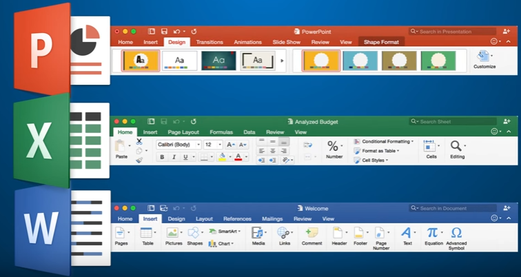 Office 365: Top 10 Reasons to Upgrade to Office 2016 on Mac-Ribbon